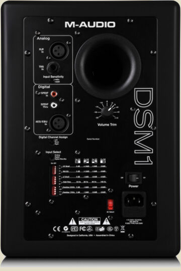 M-Audio Studiophile DSM1-back