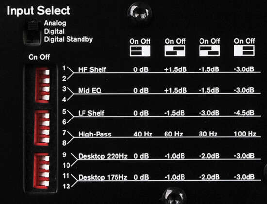 M-Audio Studiophile DSM1-Эквалайзер