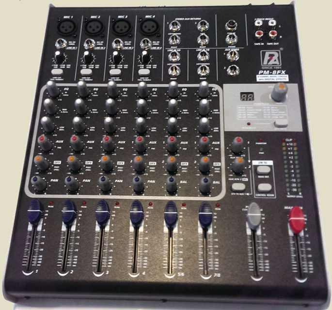 P.Audio PM-8FX