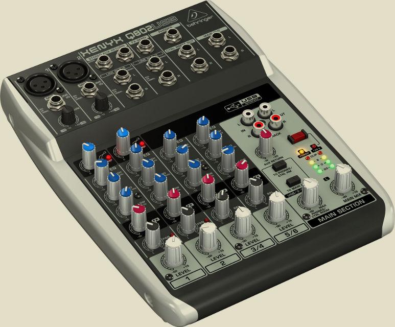 XENYX Q802USB