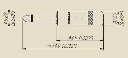 NYS224BG -размеры