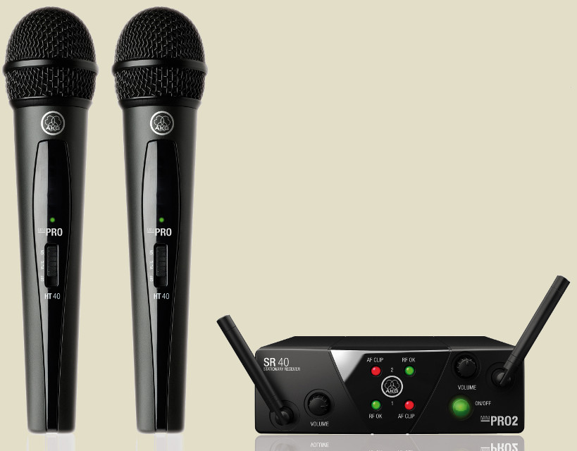 AKG WMS40 Mini2 Vocal Set Dual