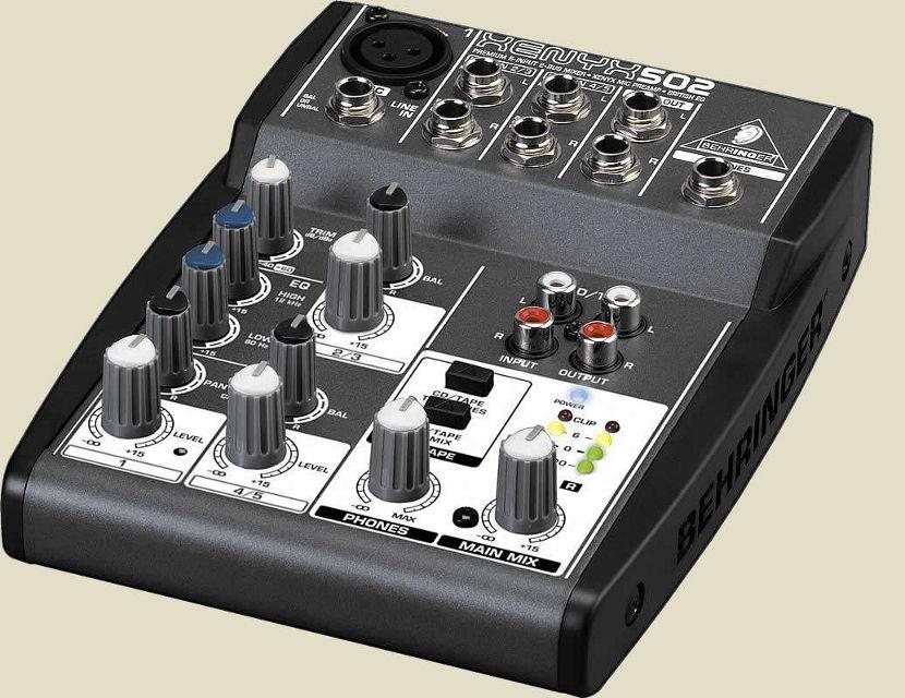 Behringer XENYX 502